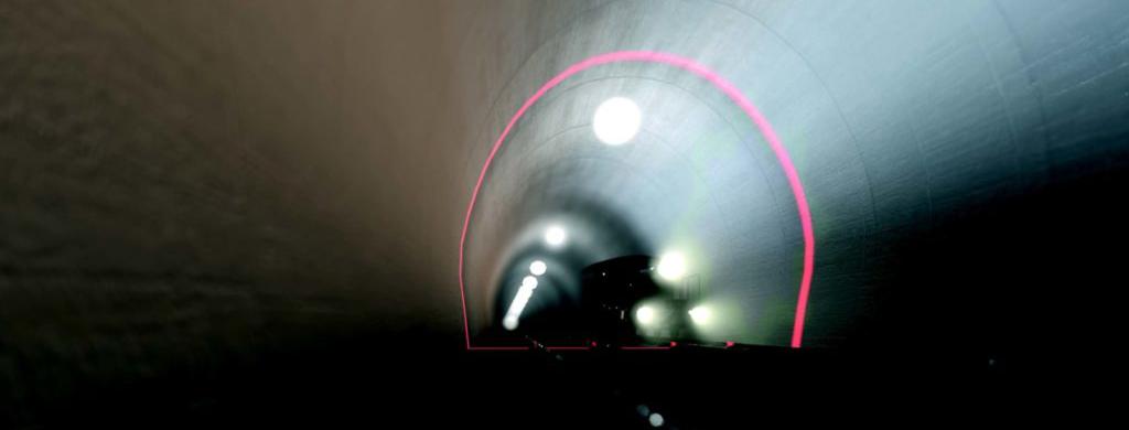 sistema di ispezione tunnel