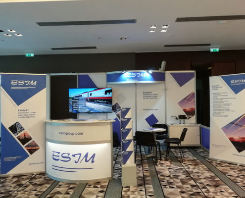 SEE MOBILITY 2019 / ESIM stand
