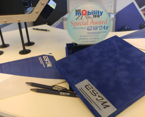SEE MOBILITY 2019 / Special Award to ESIM